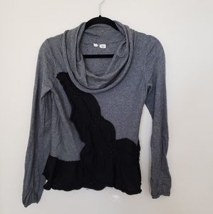 MOTH Anthropologie Switching Sides Sweater
